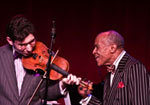 Aaron Weinstein with Jon Hendricks