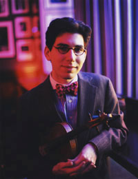 Aaron Weinstein, New York City Jazz Violinist
